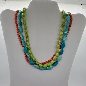 *PREMIER DESIGN 3 Strand Necklace